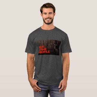 Camiseta real del perfil del crimen