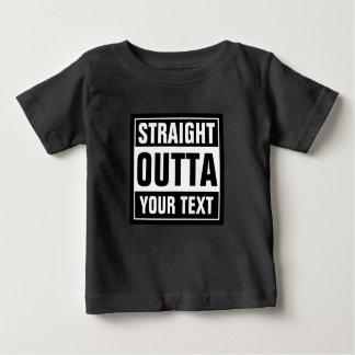 Camiseta RECTA de encargo linda de la ropa del Remera