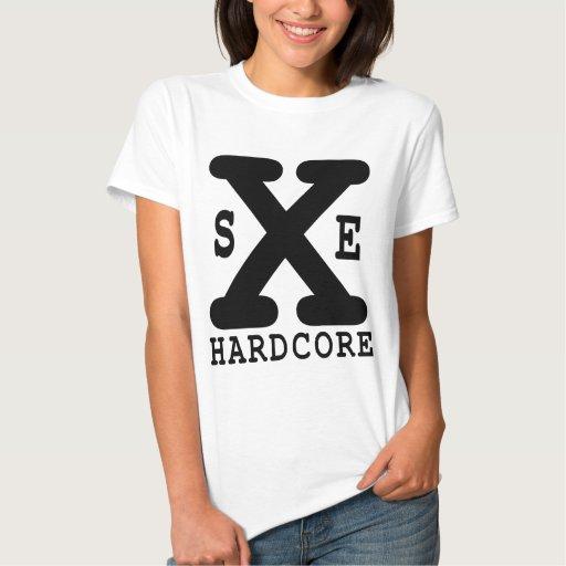 Camiseta recta de SxE del borde