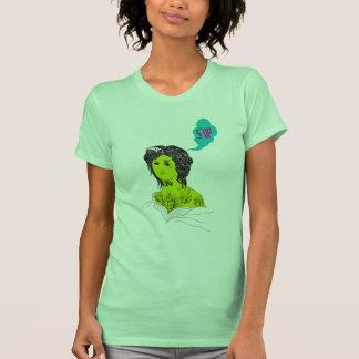 Camiseta recta del chica de Outta Compton