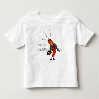 Camiseta renegada de la pimienta de chile camisas
