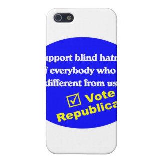 Camiseta republicana anti iPhone 5 carcasas