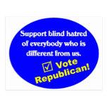 Camiseta republicana anti postales