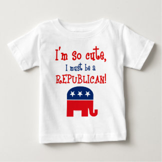 Camiseta republicana tan linda playeras