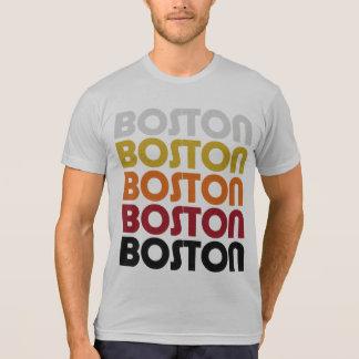 Camiseta retra de Boston Camisas