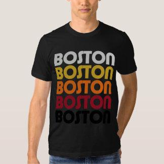 Camiseta retra de Boston Playera