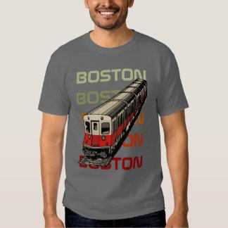 Camiseta retra de Boston Polera