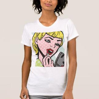 Camiseta retra de Cutie del cómic