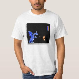 Camiseta retra de la arcada del juego playera