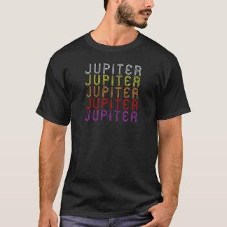 Camiseta retra de la astronomía del vintage del