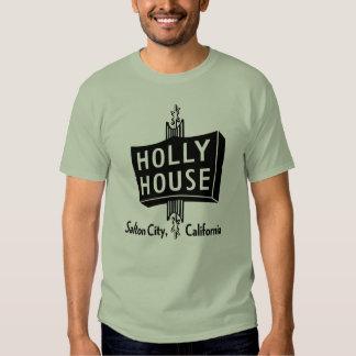 Camiseta retra de la casa del acebo remeras