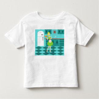 Camiseta retra de la cocina