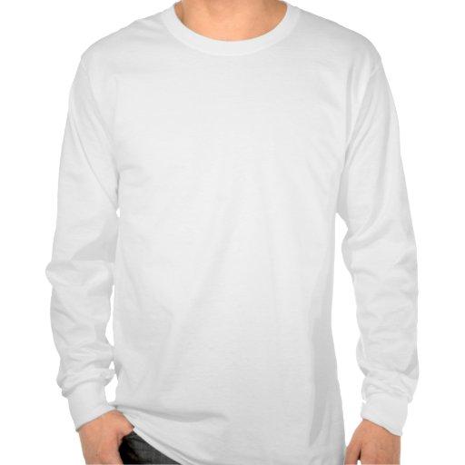 Camiseta retra de la manga larga para hombre