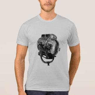 Camiseta retra de la mezcla del