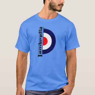 Camiseta retra de la MOD Lambretta