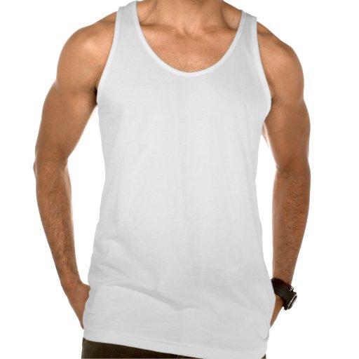 Camiseta retra de las camisetas sin mangas de los