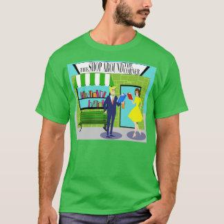 Camiseta retra de los aficionados a los libros