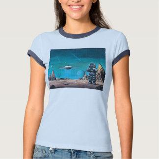 Camiseta retra de lujo prohibida del planeta