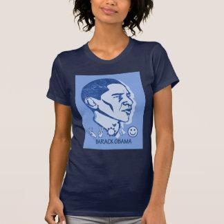 Camiseta retra de Obama Poleras