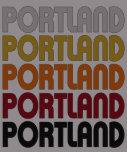 Camiseta retra de Portland