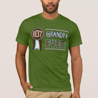 Camiseta retra del abuelo del día/del cumpleaños