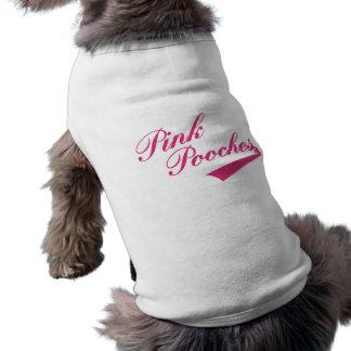 Camiseta retra del mascota de la parodia de las se playera sin mangas para perro
