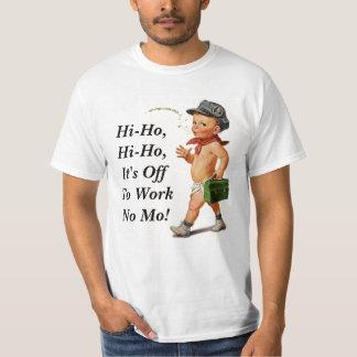 Camiseta retra del regalo del retiro del vintage playera