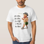Camiseta retra del regalo del retiro del vintage playeras