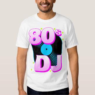 Camiseta retra del tigre 80s 80s DJ de Corey Playera