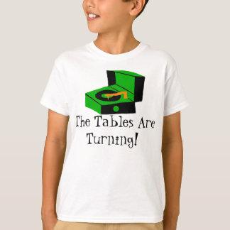 Camiseta retra del tocadiscos