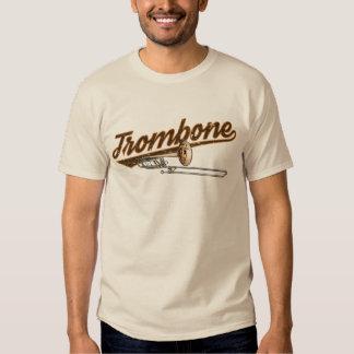Camiseta retra del Trombone Polera
