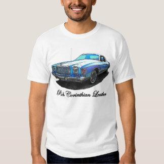 Camiseta rica del cuero del Corinthian Camisas