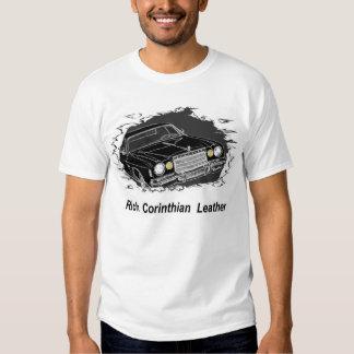 Camiseta rica del cuero del Corinthian Playeras