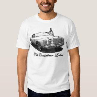 Camiseta rica del cuero del Corinthian Polera