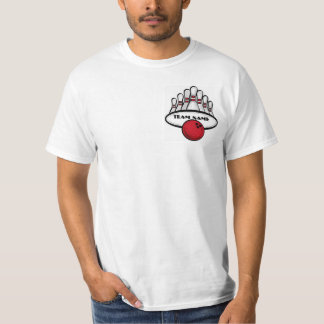 Camiseta roja adaptable del valor del equipo de camisas
