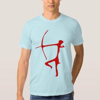 Camiseta roja de Archer Polera