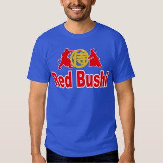 Camiseta roja de Bushi Playera
