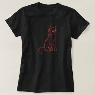 Camiseta roja de Glowolf