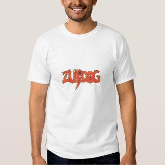 camiseta roja de las adolescencias del zupdog poleras