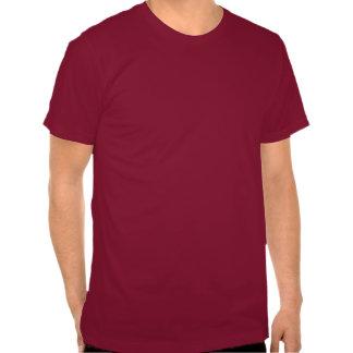 Camiseta roja de risa del navidad de la nariz del