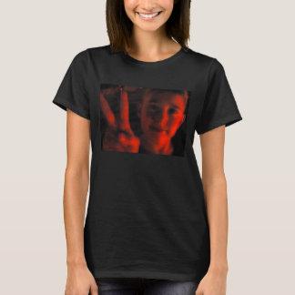 """""""Camiseta roja del arte de la cultura de la paz Playera"""