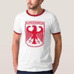 Camiseta roja del Ejército alemán Playera
