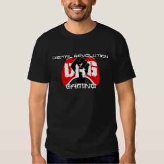 Camiseta roja del logotipo: Hombres negros Remera
