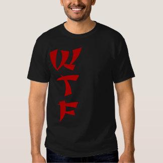 Camiseta roja del negro de la camiseta del playera