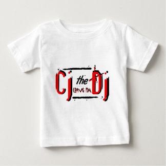 Camiseta roja del niño de CJ
