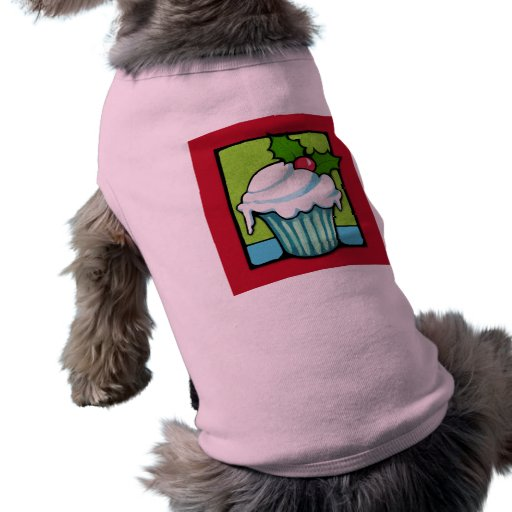 Camiseta roja del perro de la magdalena del acebo  ropa para mascota