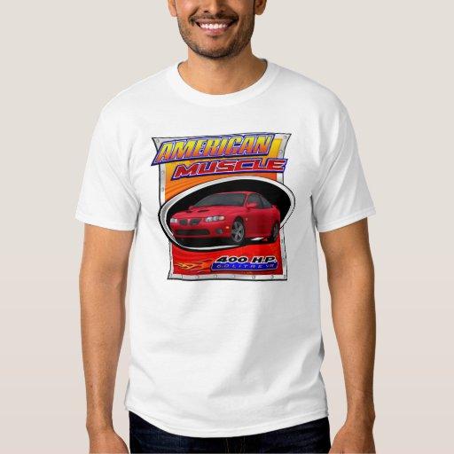 Camiseta roja gráfica de 2006 GTO Poleras