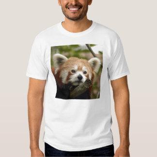 Camiseta roja Panda-014 Poleras
