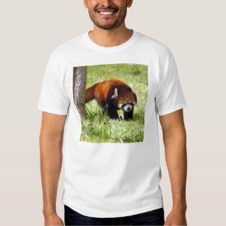 Camiseta roja Panda-049 Playeras