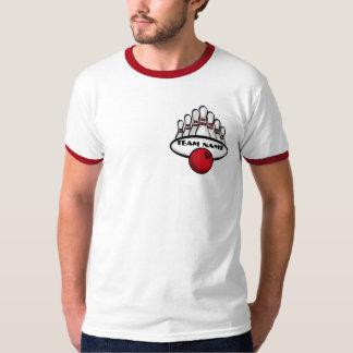 Camiseta roja para hombre adaptable del equipo de camisas